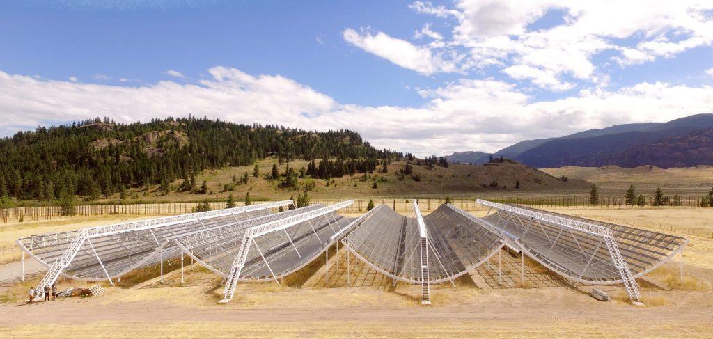 chime telescopio canadiense physorg señales de radio