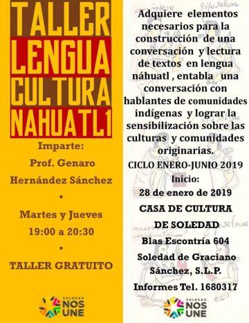 taller de náhuatl