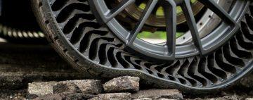 llantas sin aire Uptis Michelin GM