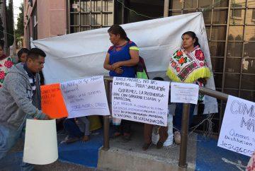 indigenas criminalizados por Carreras y Nava