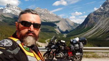 Mexicano en moto