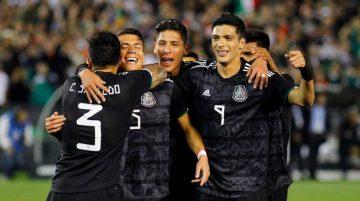 Selección Mexicana México contra Cuba Copa Oro