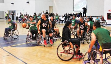 basquet en silla de ruedas