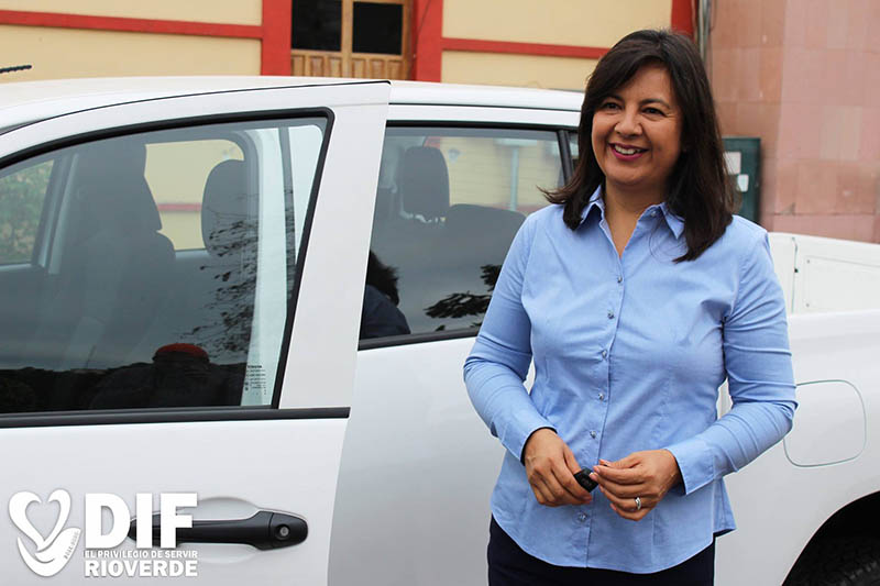 Rosa Isela Konishi, presidenta del DIF de Rioverde