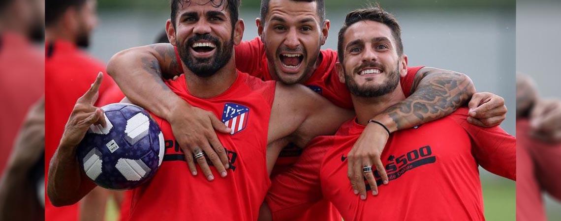 Atlético de Madrid se enfrenta al Atlético de San Luis
