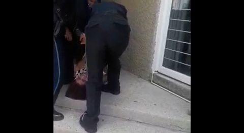 video desalojo de oficial mayor por Edgar Jimenez Arcadia