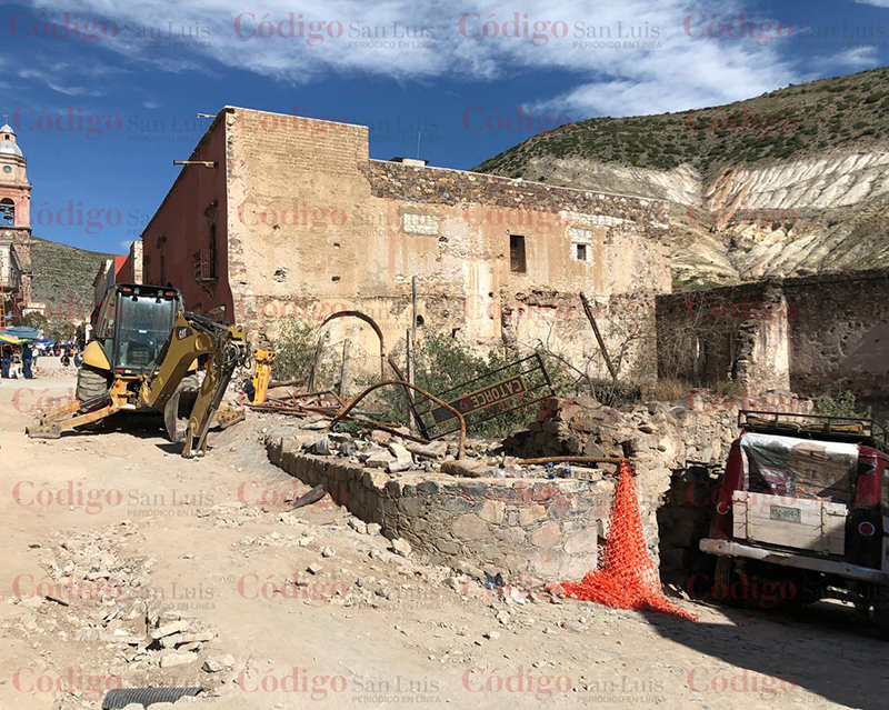 real de catorce destruido