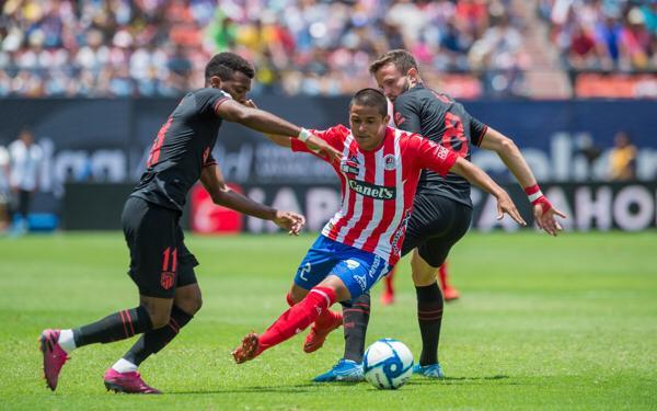 atletico san luis vs atletico madrid
