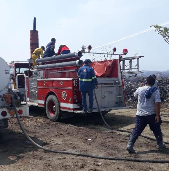 incendio tiradero municipal valles