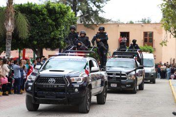 policias municipales villa de reyes