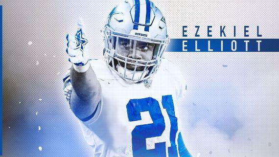 Cowboys confirman renovación a Elliott por seis años y 90 millones