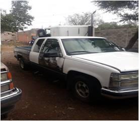 taller desmantelado con vehiculos robados en ahualulco