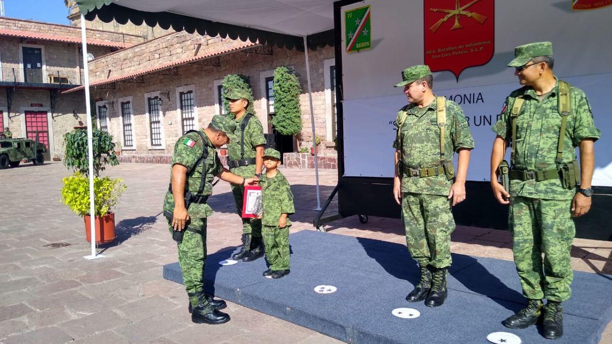 """Sedena llevó a cabo el evento """"Soldado Honorario por un día"""""""