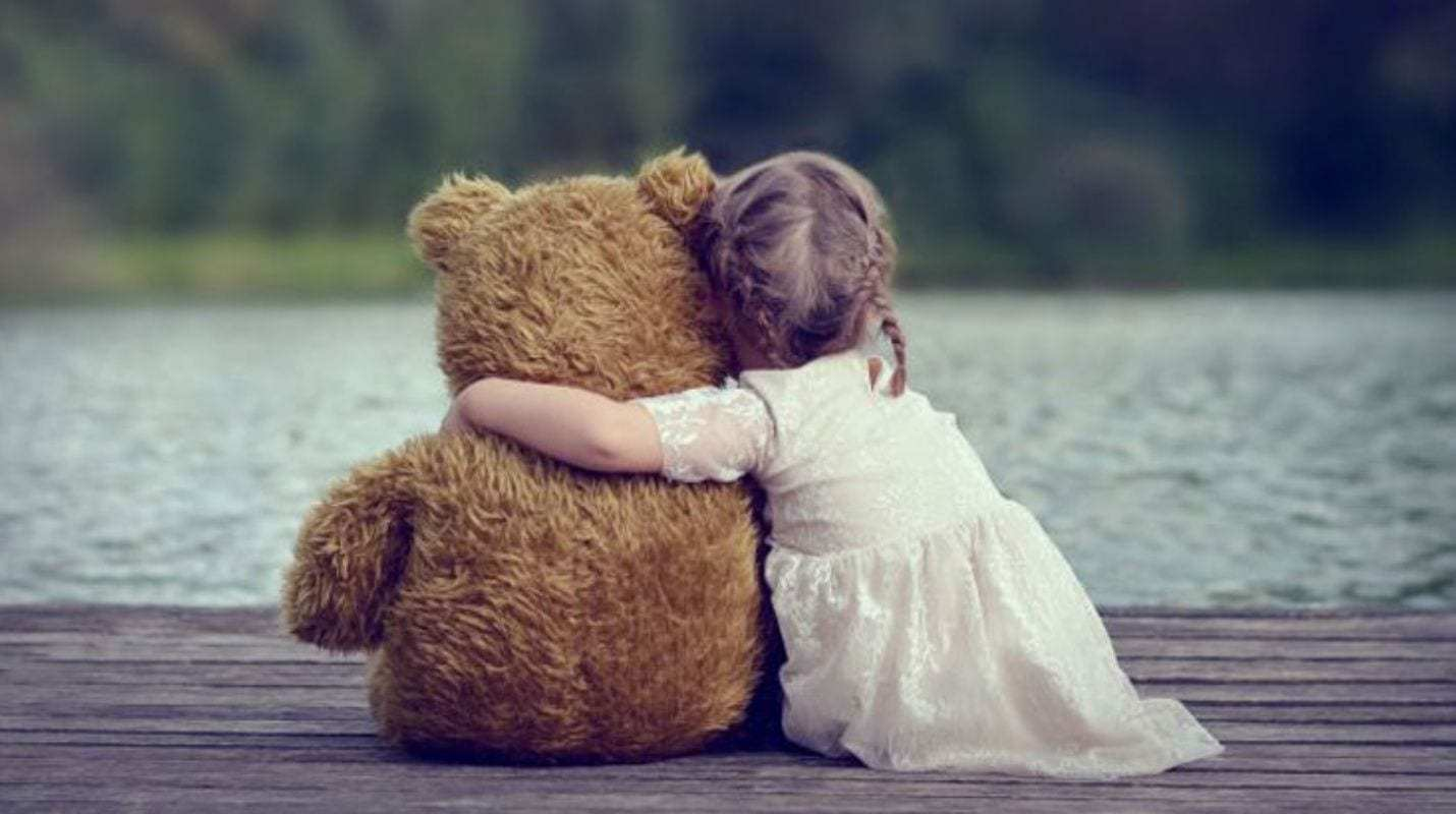 un abrazo