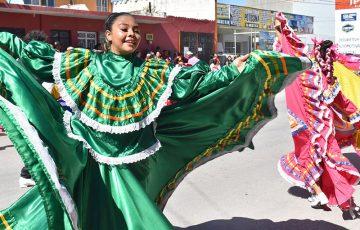 desfile 20 de noviembre en Matehuala