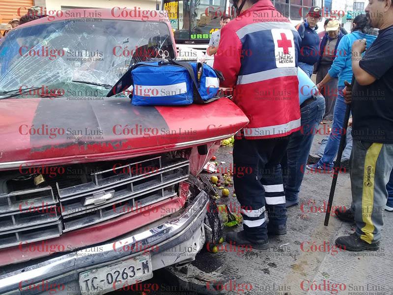 accidente avenida universidad