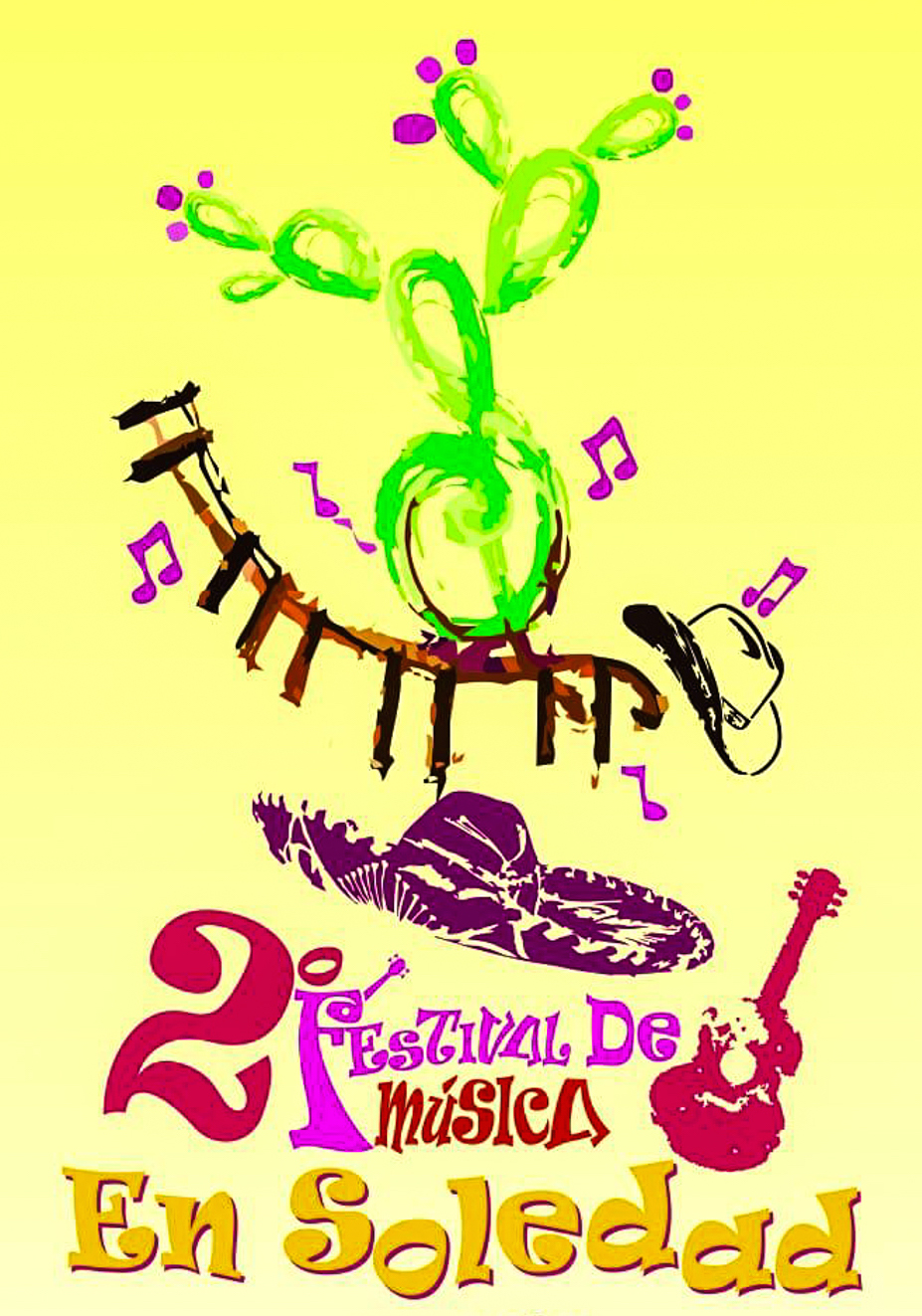No te pierdas el II Festival de Música de Soledad 2019 - Código San Luis