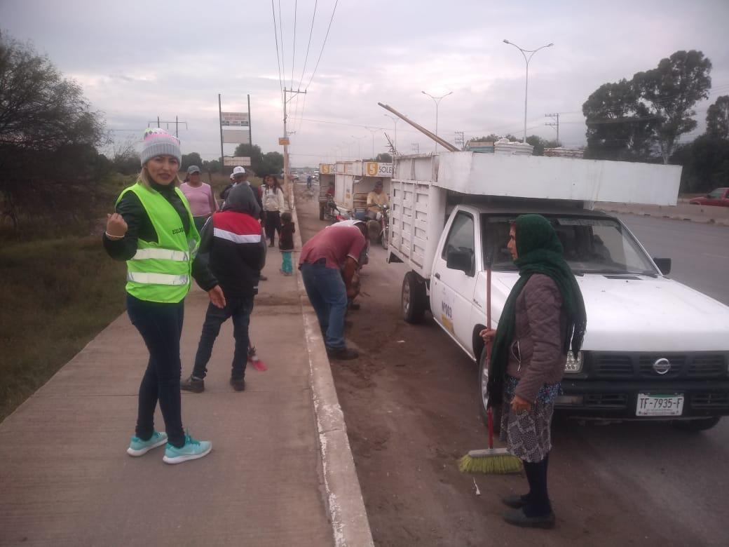 De Puerta Real a carretera Rioverde, no pasa campaña de limpieza en Soledad - Código San Luis
