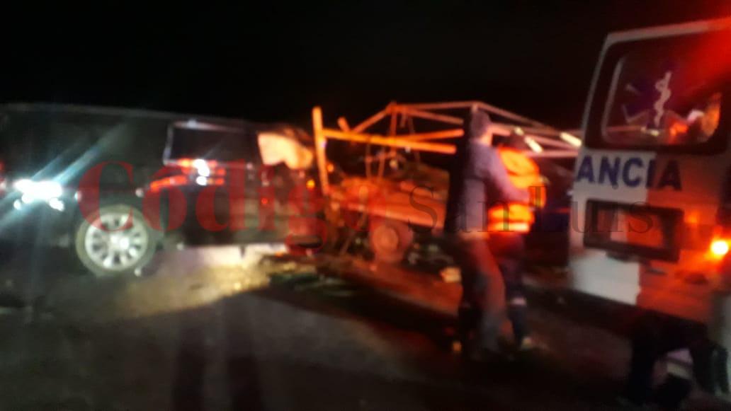Se registra accidente en carretera Villa de Reyes – San Felipe, un muerto y varios heridos - Código San Luis
