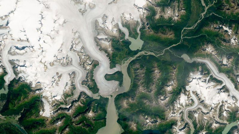 taku glaciar alaska se derrite