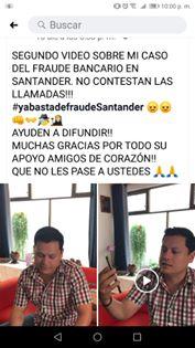 cuentahabiente Santander