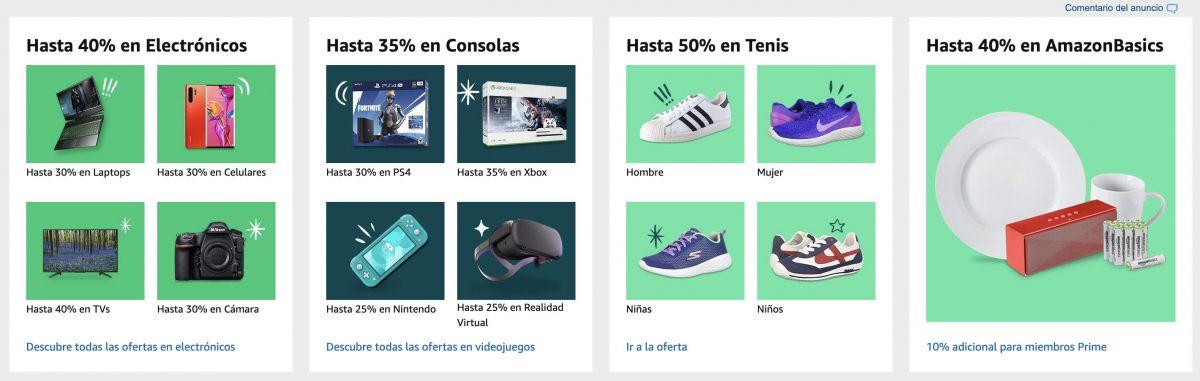 ofertas Cybermonday amazon mexico