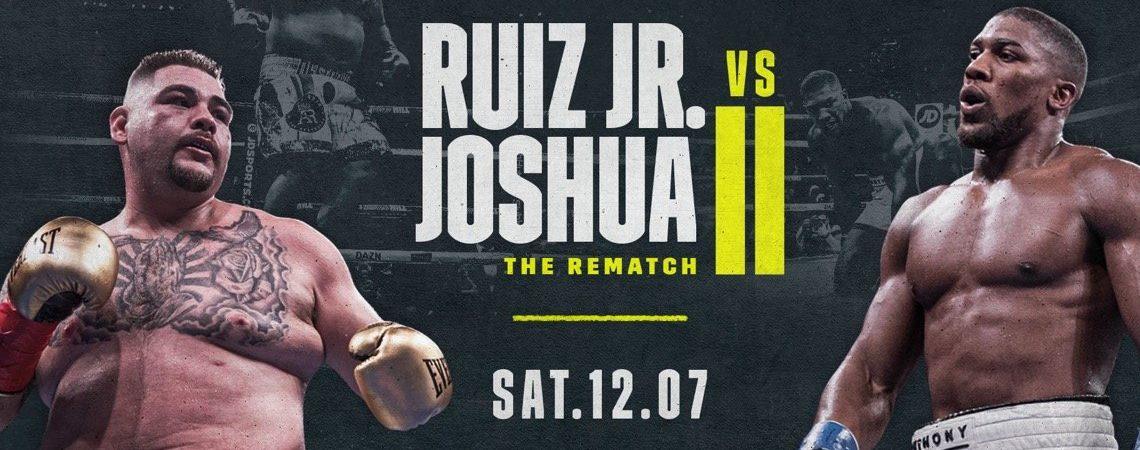 Todo listo para el Ruiz Vs Joshua Cap. 2
