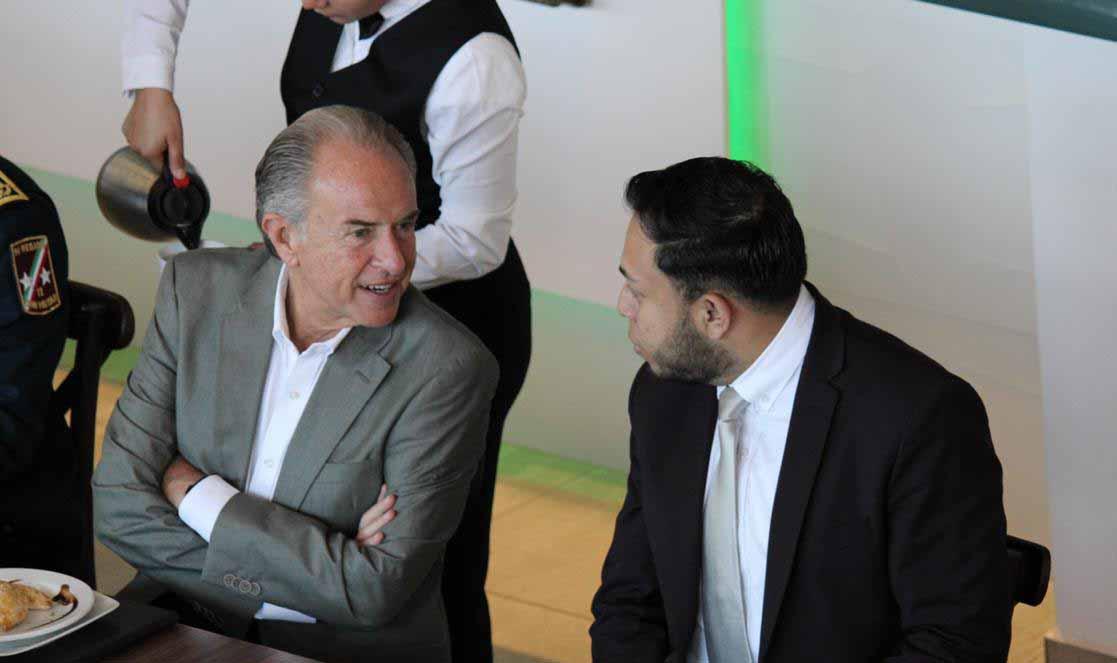 Gabino Morales y Juan Manuel Carreras
