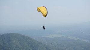 vuelo en parapente