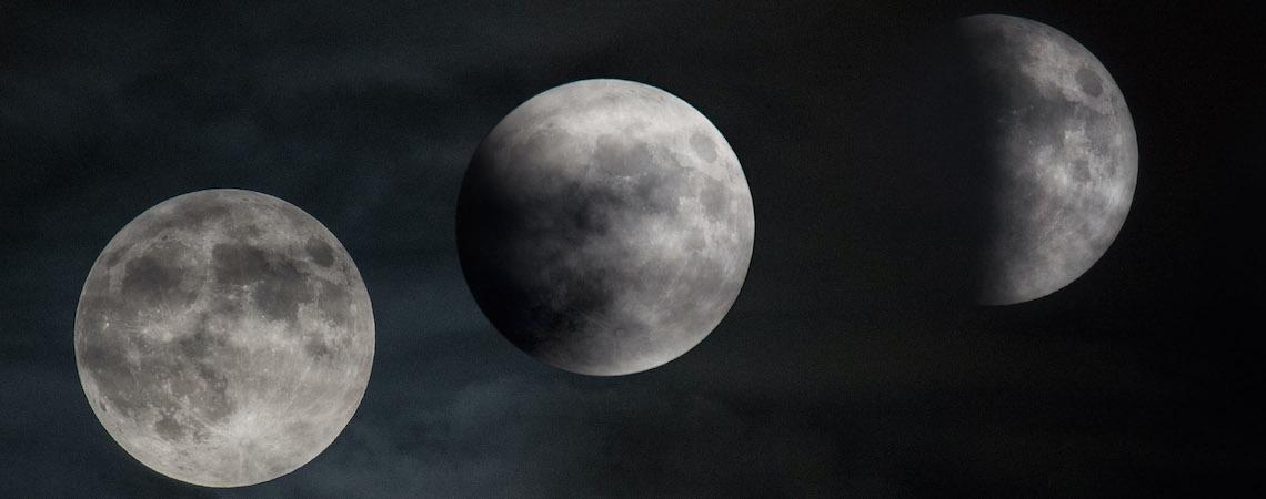 Inicia junio con eclipse penumbral de Luna