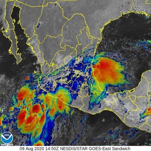 Tormenta tropical Elida trae humedad al país; lluvias, en 22 estados - Quadratín