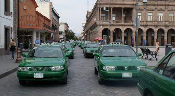 Taxistas y comerciantes