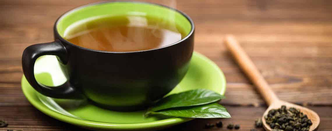 Té verde, ideal para bajar de peso y disminuir la ansiedad