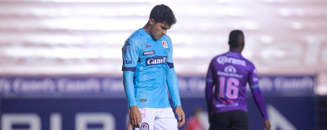 (VIDEO) Le adelantaron ofrenda al Atlético de San Luis
