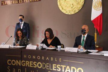 Comparece Alejandro Leal ante el Congreso del Estado