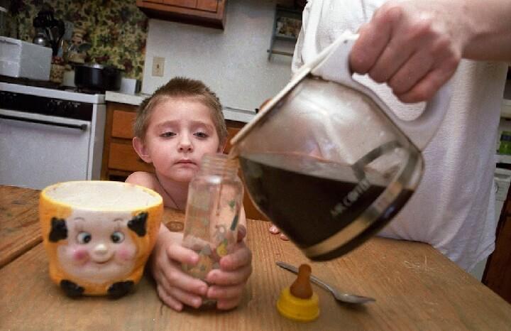 cafeína-niños