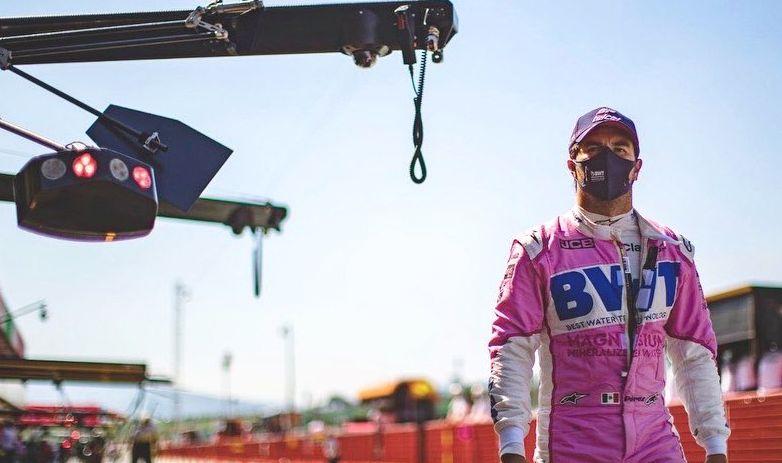 """Checo"""" Pérez saldrá último en el Gran Premio de Abu Dhabi"""