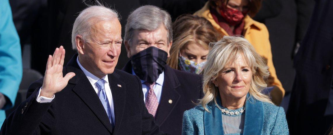 [VIDEO] Joe Biden toma posesión como presidente de los Estados Unidos