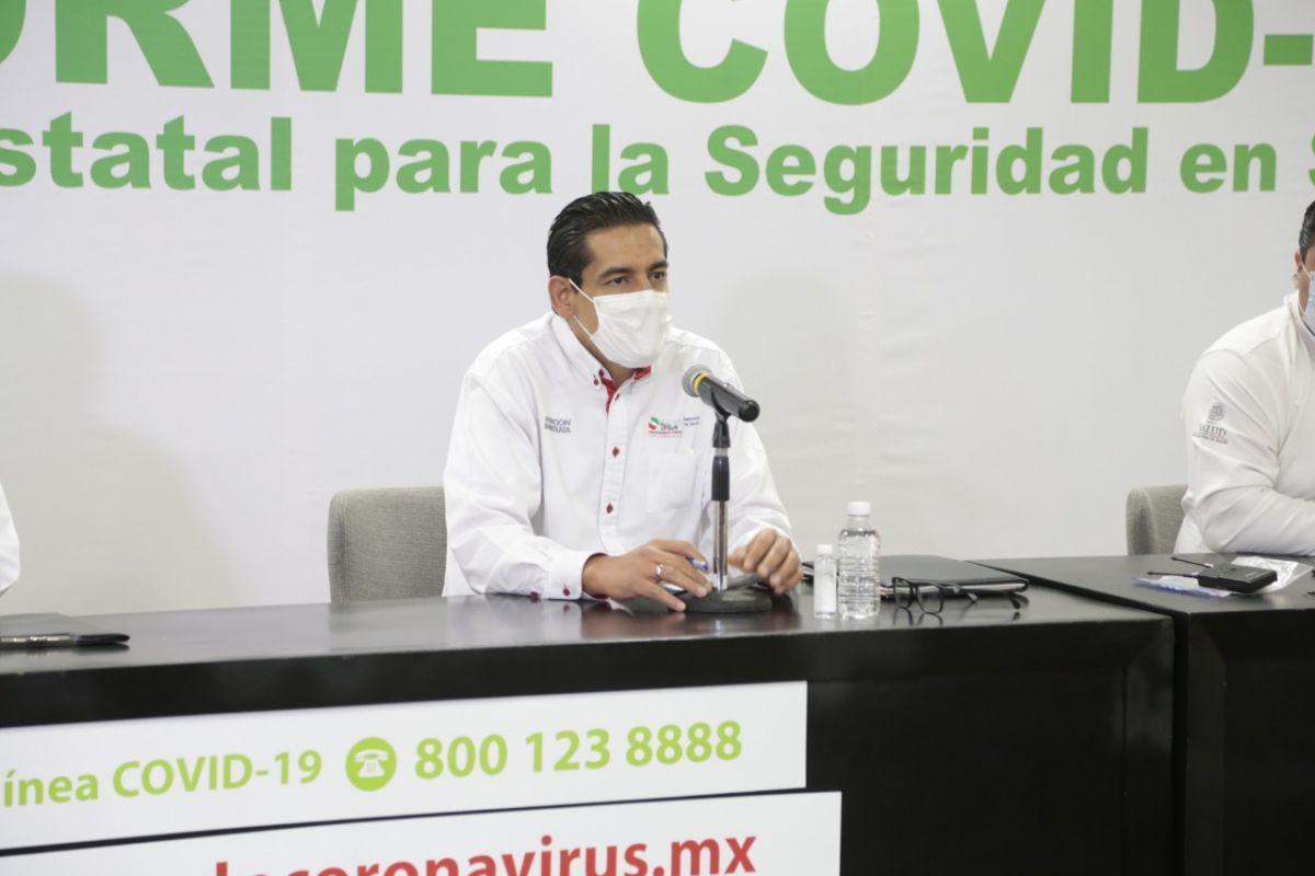 Desciende hospitalización por Covid-19 en SLP