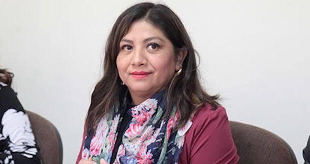 La diputada local de Morena, Marite Hernández Correa,