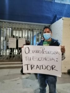 Toman la sede del PAN panistas de Aquismón - Cuauhtémoc Balderas