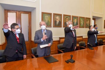 Rinde protesta nuevos funcionarios de Gobierno del Estado