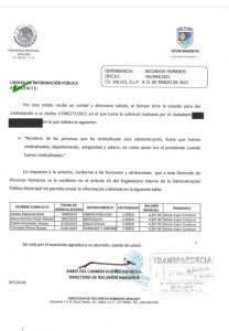 Narcia Pessina Gallegos lidereza sindical