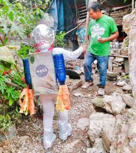 Jared el niño astronauta de Coxcatlán