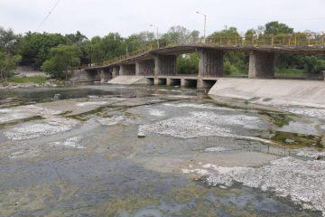 crisis de agua río valles baja su nivel