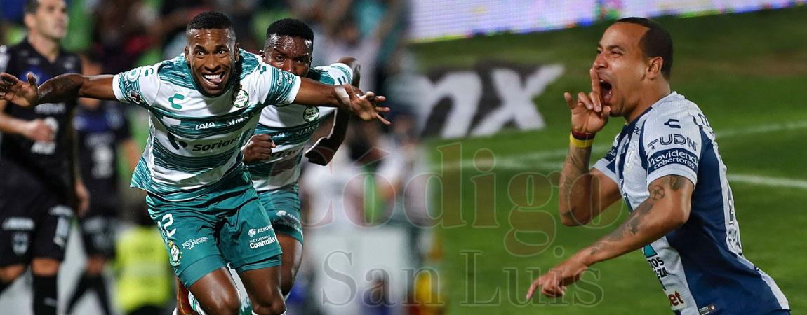 [VIDEO] Pachuca y Santos se encaminan a semifinales de Liga Mx