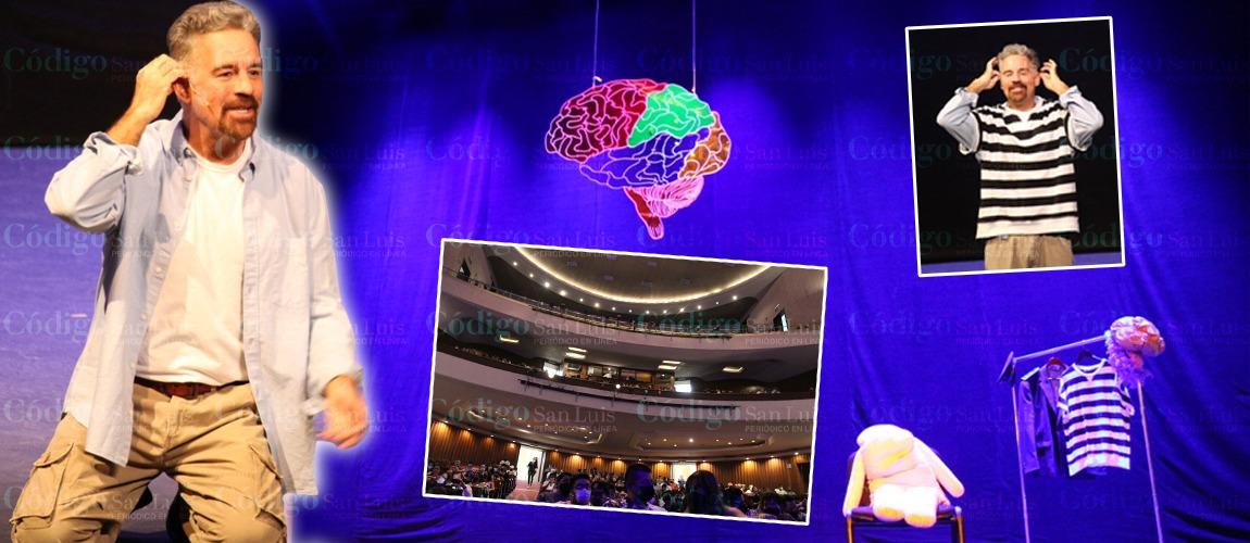 """Con el """"D´MENTE"""" de Ari Telch, Teatro de la Paz regresa a funciones presenciales"""
