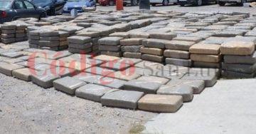 Aseguran cinco toneladas de marihuana Villa de Arriaga
