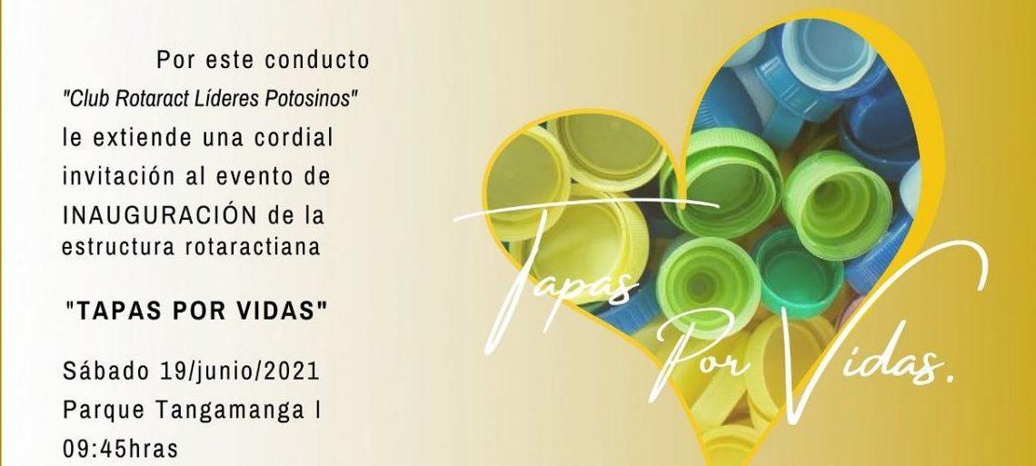 Inauguran la primer estructura de club Rotarac «Tapas por Vidas»