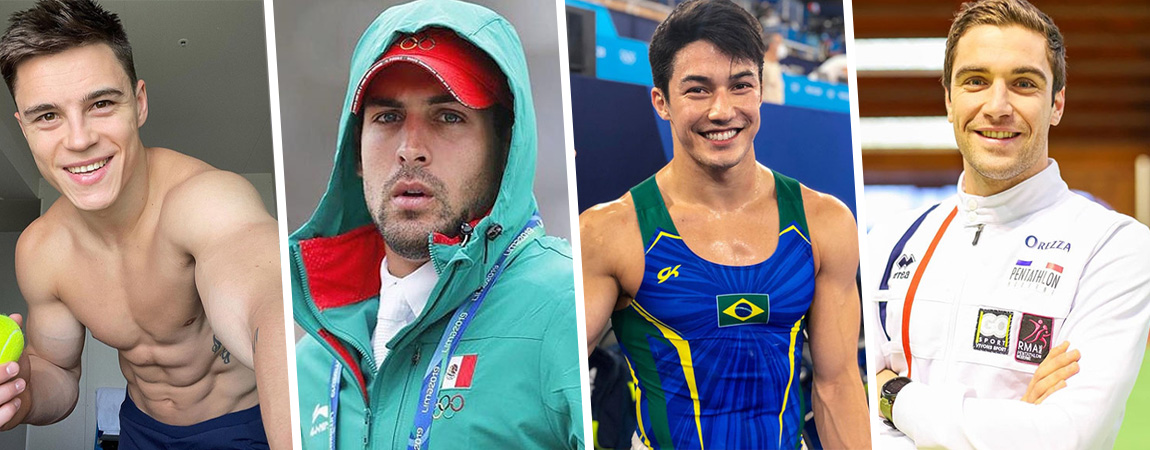 [GALERÍA] ¡Papuchos! Conoce a los atletas más guapos de Tokyo 2020